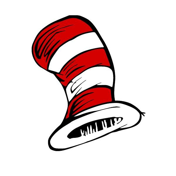 cat in the hat hat - 600×600