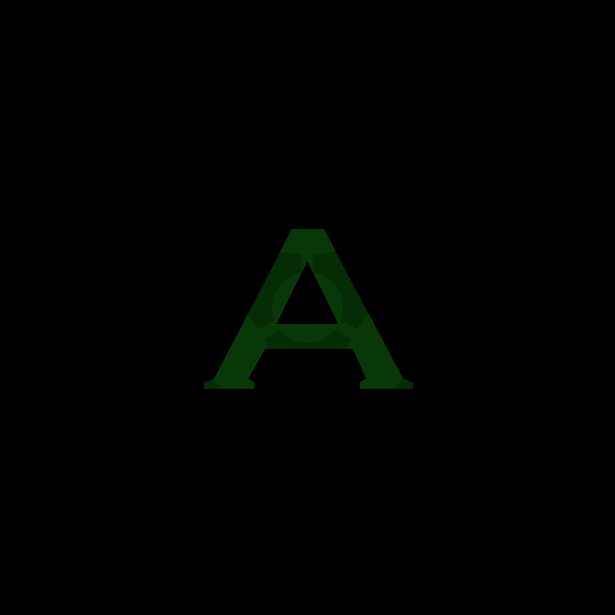 Alpha Radiation Symbol Free Image