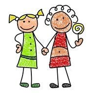 Friends Clip Art N48