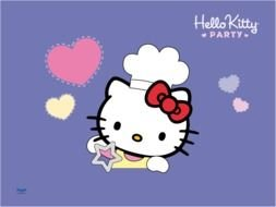 Hello Kitty Party clipart