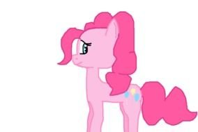 My Little Pony Pink drawing