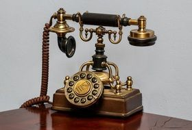 retro telephone communication