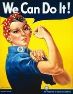 poster vintage we can do it drawing