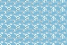 snowflakes winter christmas drawing