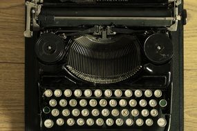 old-fashioned vintage typewriter