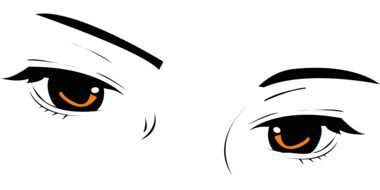 beautiful eyes look drawing
