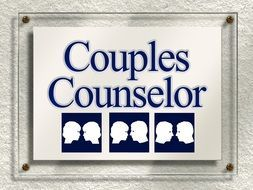 sign on the door psychological counseling