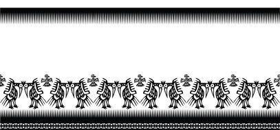 textile design white black illustrations