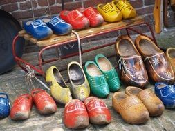 holland wooden shoes