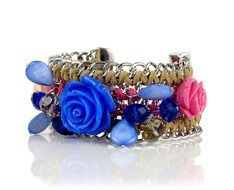 jewelry bracelet with roses