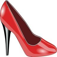 ladies red shoes