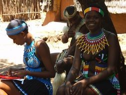 women from a tribe in south africa