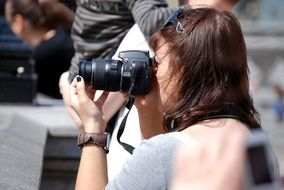 photographer woman