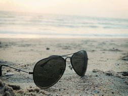 sunglasses beach fashion sand