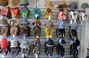 many summer hats for sale