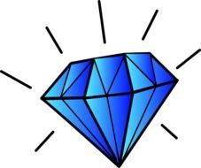 diamond precious drawing