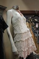 mannequin dress fashion clothing