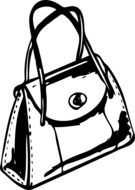 handbag as a graphic image