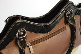 Woman leather handbag