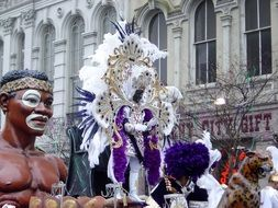 mardi gras zulu king new orleans