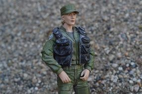Toy figure military army