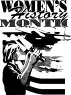 women's history month, poster