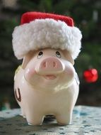 savings bank christmas pig
