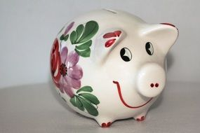 piggy bank money save coins euro