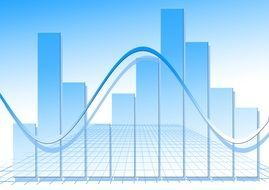 statistics chart graphic bar forex