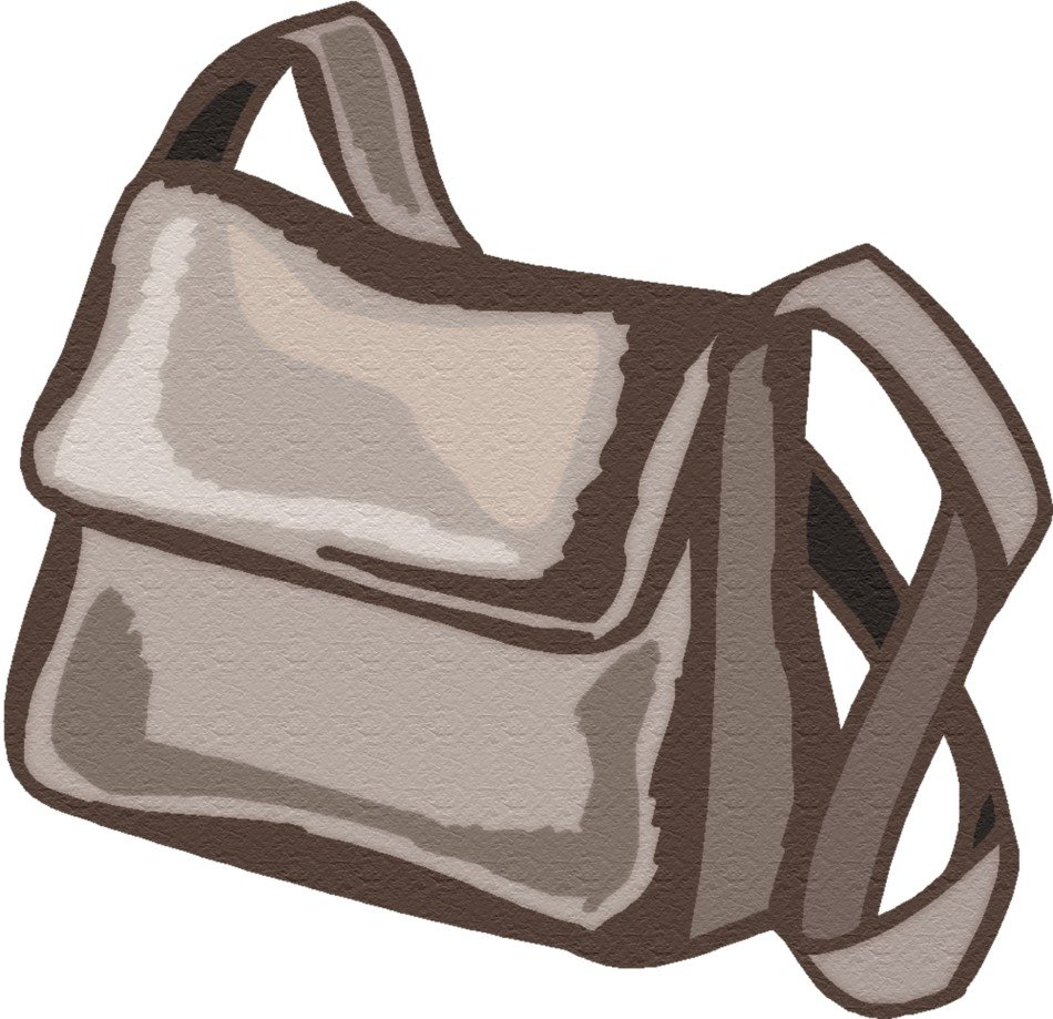 graphic image of a woman's stylish handbag