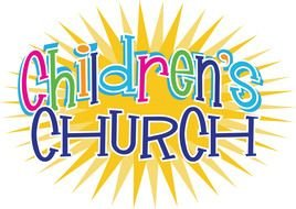 Colorful Children's Church clipart