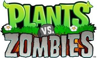 Plants Vs Zombies Logo of computer game