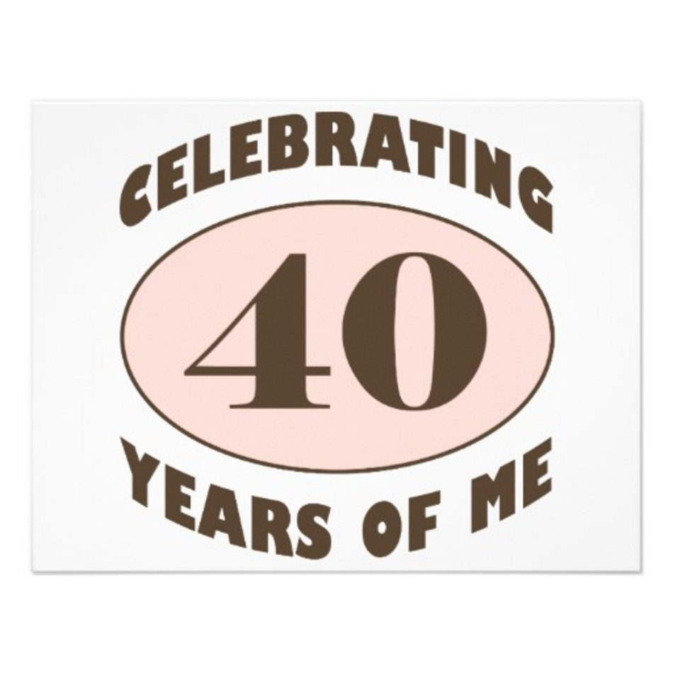 Funny 40th Birthday Sayings For Men free image