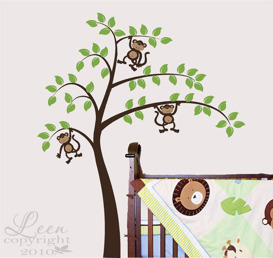 Vinyl Tree Wall Decals drawing