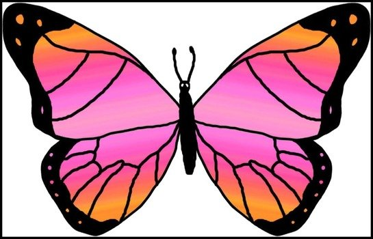 clipart of the beauty Butterfly