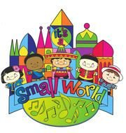 Small World Clip Art drawing