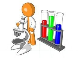 Colorful science important clipart