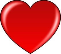 Red Heart Clip Art N52