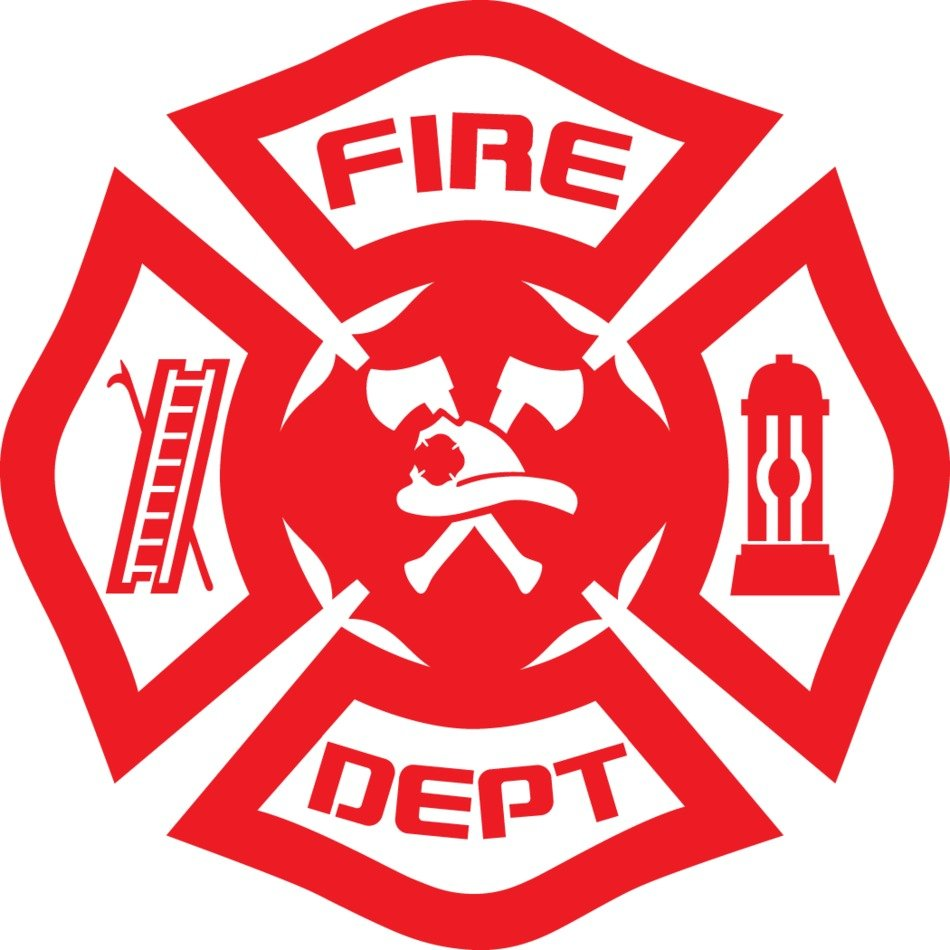 Fire Department Logo Vector drawing