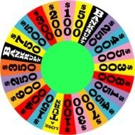 Wheel Of Fortune Template free image