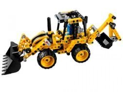 Ä°llustration of Lego Technic Mini auto