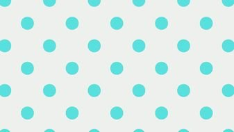Blue Polka Dots drawing