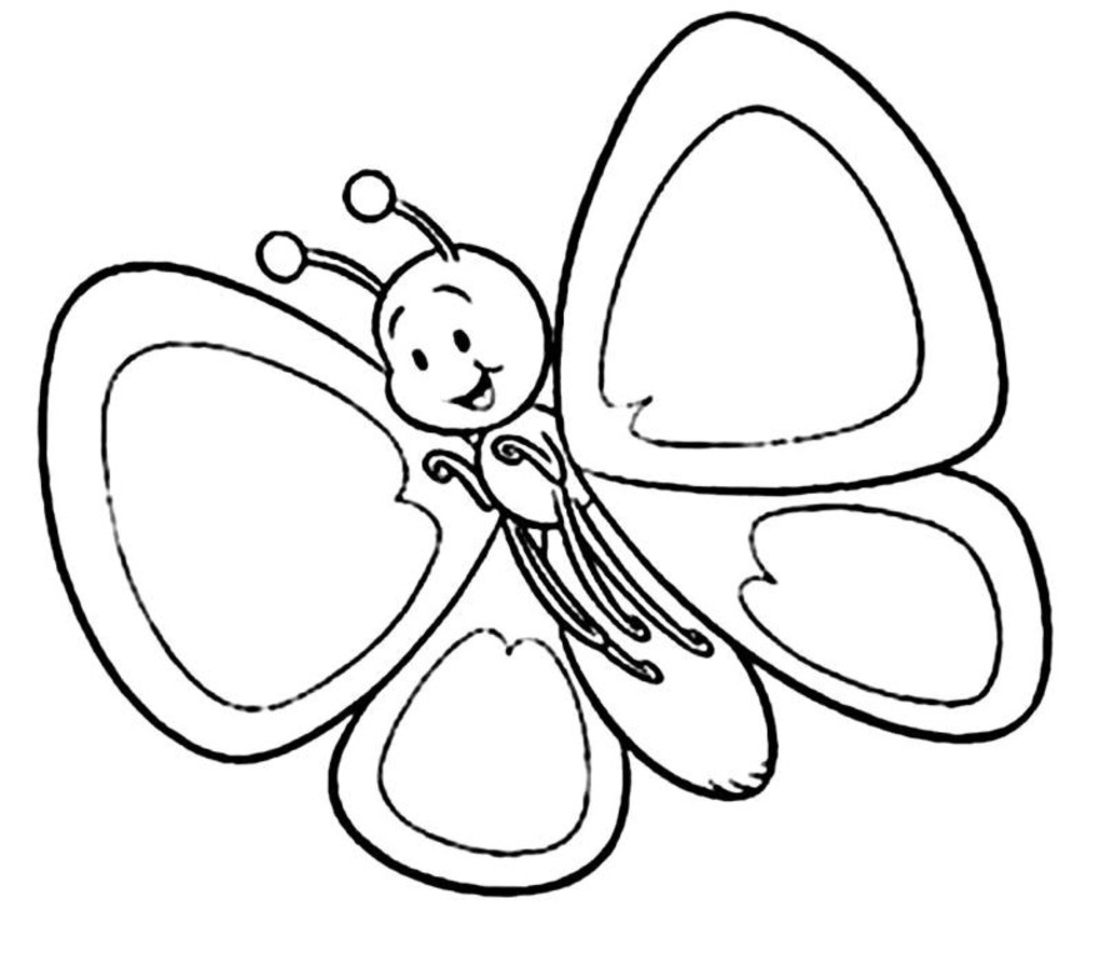 Clipart Of The Cute Butterfly Free Image