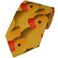 Rubber Duck Tie drawing