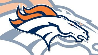 horse Denver Broncos Logo drawing