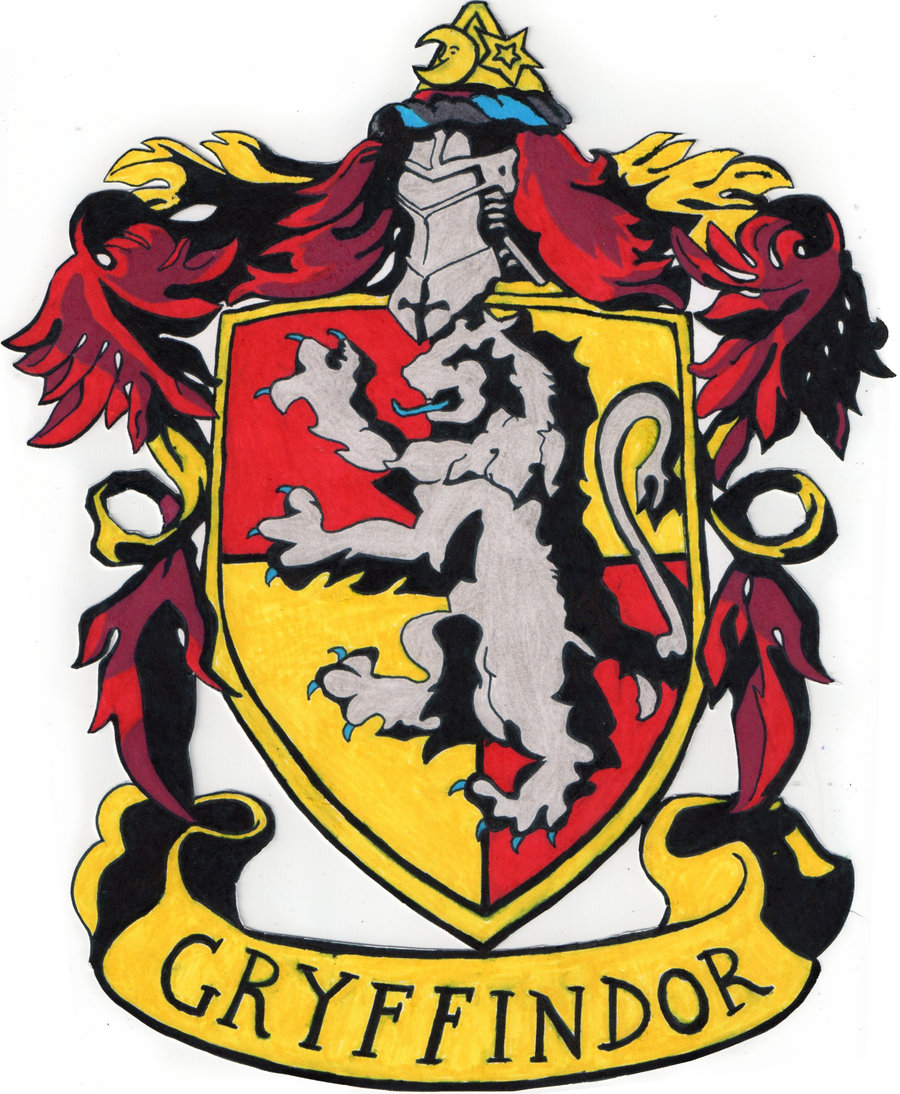 graphic about Gryffindor Crest Printable named Gryffindor Crest cost-free graphic