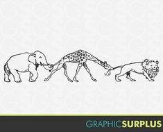 Animal Clip Art drawing