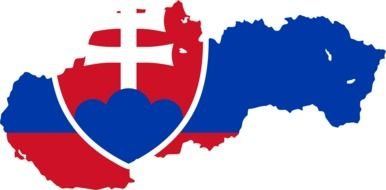 Slovakia Flag as picture for clipart