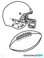 Kids Football Jersey Coloring Pages drawing