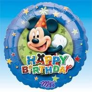 Mickey Mouse Happy Birthday drawing
